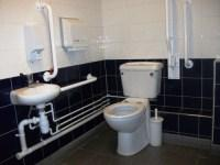 Accessible toilet on ground floor - main concourse