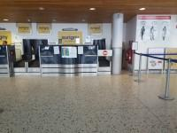 Check-in desks