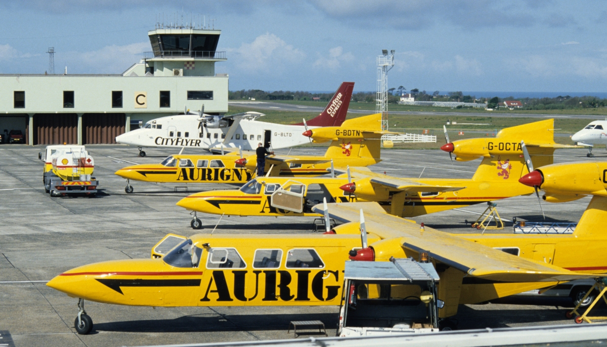 Photo Archive Guernsey Airport